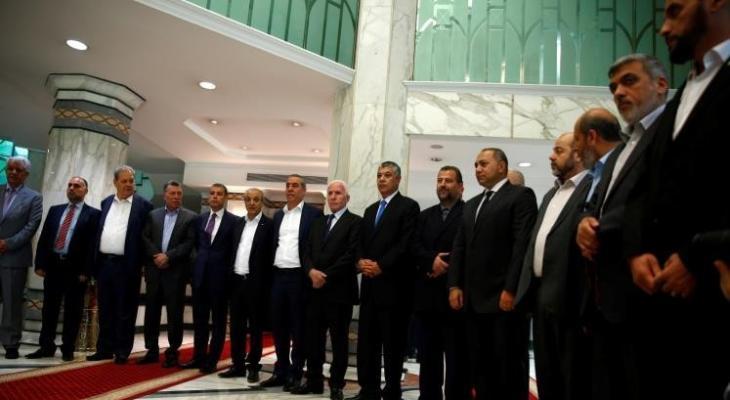 لقاءات الفصائل في القاهرة