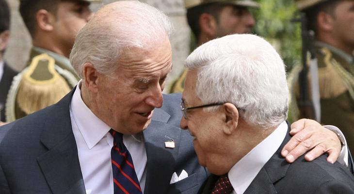 الرئيس عباس وجو بايدن