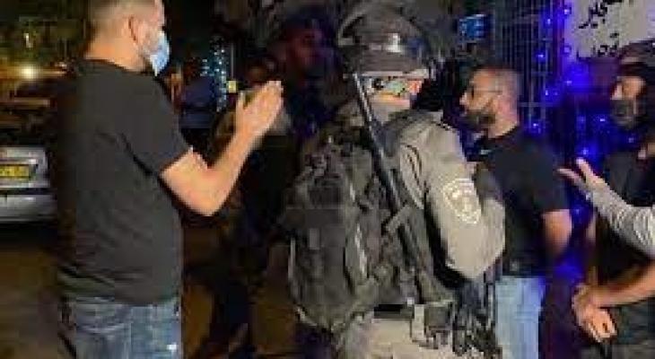 إصابة مقدسيين واعتقال آخريّن خلال مواجهات في حي الشيخ جراح