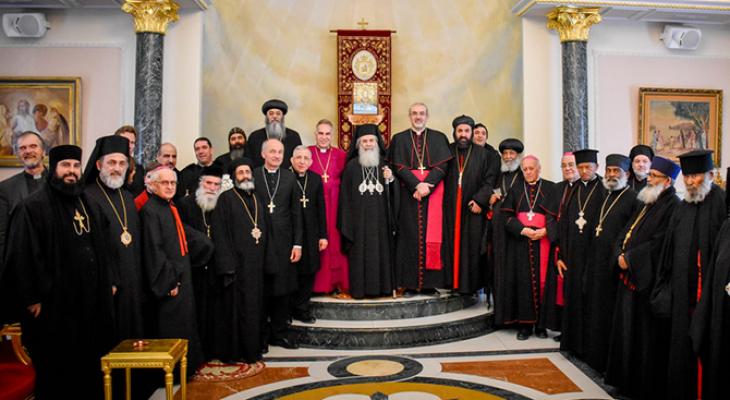 بطاركة ورؤساء الكنائس يستنكرون انتهاكات الاحتلال في القدس