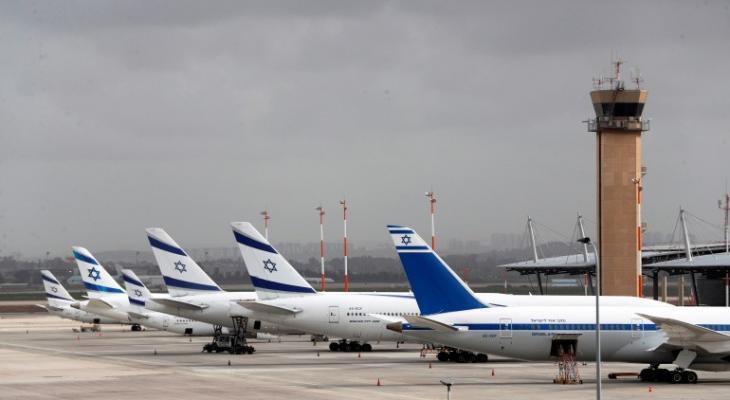 """""""إسرائيل"""" تغلق مطارًا ضمن إطار جهود البحث عن أسيرين فلسطينيين"""