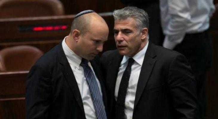 لبيد يجتمع مع بينت لبحث تشكيل حكومة إسرائيلية يتناوبان على رئاستها