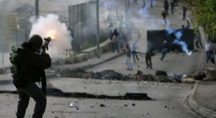 مواجهات الاحتلال.