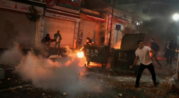 إصابات بالاختناق خلال مواجهات مع الاحتلال في الخليل