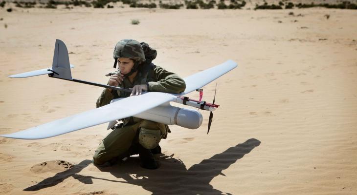 """المقاومة تُسقط طائرة من نوع """"سكاي لارك"""" في أجواء غرب غزّة"""