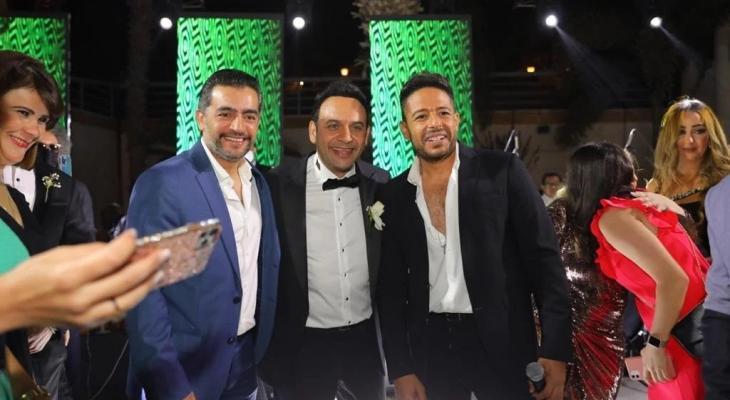 مصطفى قمر يحتفل بزفاف ابنه الأكبر بحضور نجوم الغناء