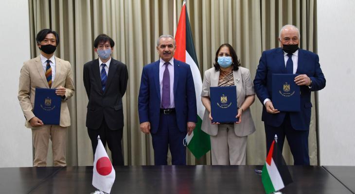 """اليابان تُقدم منحة لفلسطين لمواجهة فيروس """"كورونا"""" بقيمة 8 مليون دولار"""