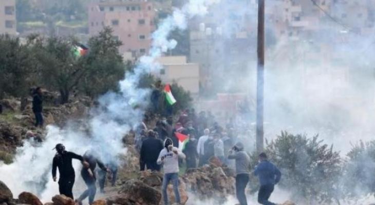 اندلاع مواجهات بين المواطنين وقوات الاحتلال في بيت لحم