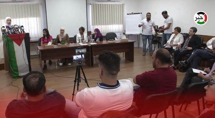 صحفيات يروين شهادات الاعتداءات عليهن خلال تغطية التظاهرات في الضفة