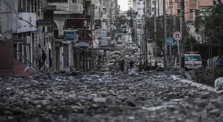 الأشغال بغزة تقرر إزالة 4 عمارات سكنية بشارع الوحدة