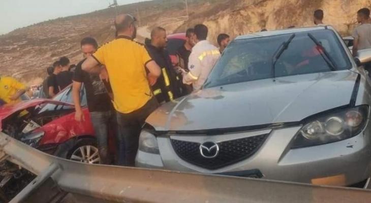 مصرع مواطن وإصابة 3 آخرين في حادث سير جنوب جنين