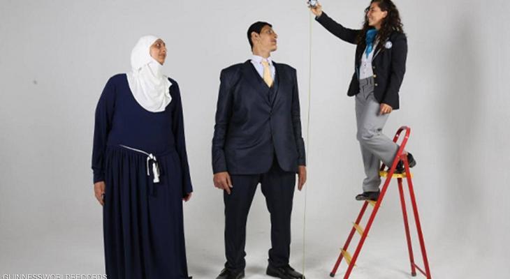 شاهدوا   صور لعمالقة مصر.. شقيقان يحطمان 5 أرقام قياسية