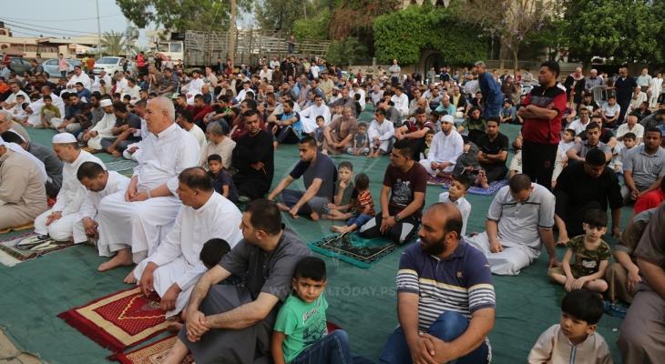 صلاة العيد في غزة