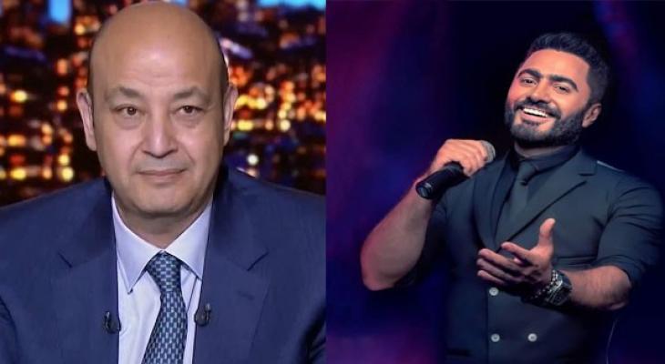 """عمرو أديب: انتظروا نجم الجيل تامر حسني في """"الحكاية"""" الإثنين المقبل"""