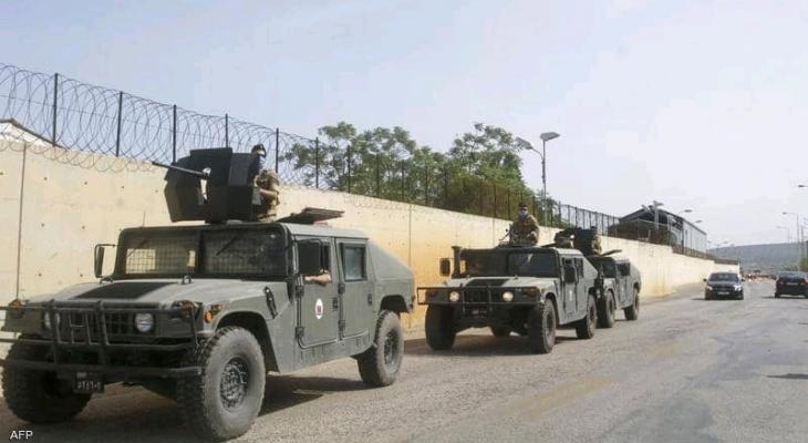 الجيش اللبناني.