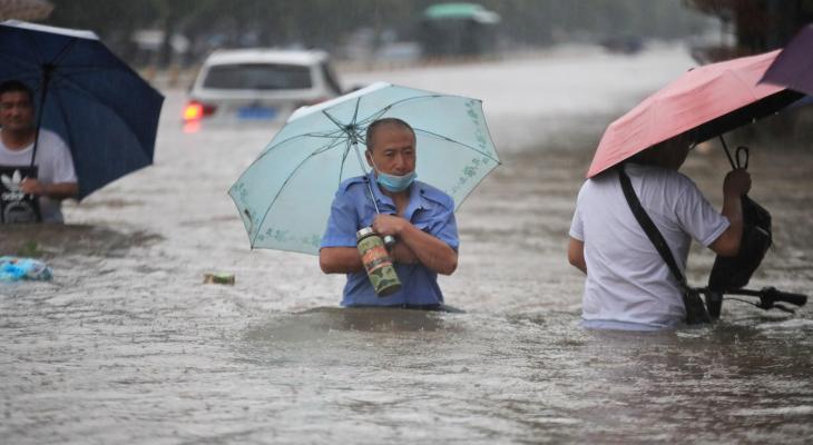 فيضان الصين