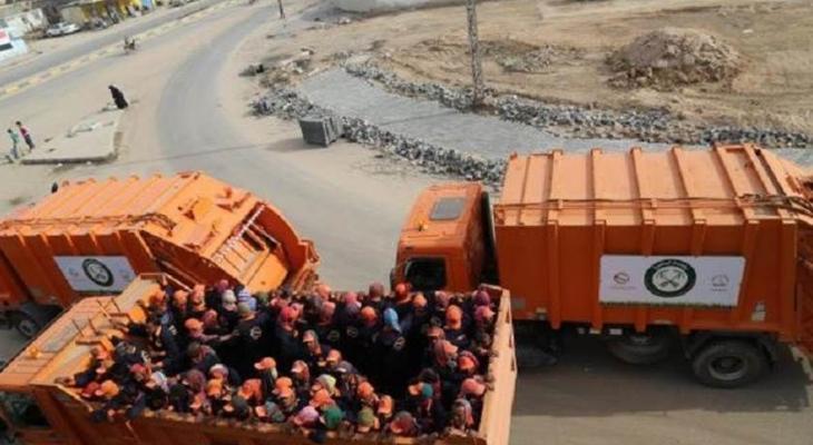 """شرطة بيت لحم تضبط 3شاحنات محملة بنفايات """"إسرائيلية"""""""
