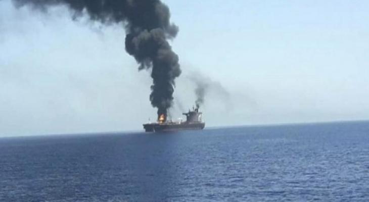 استهداف سفينة إسرائيلية