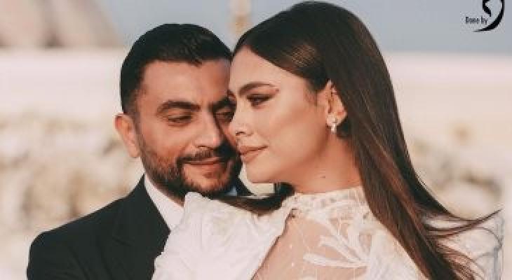 هاجر أحمد تغازل زوجها بصورة رومانسية: سيد الرجال