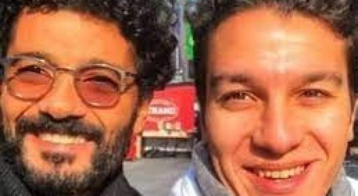 خالد النبوي وابنه نور النبوي