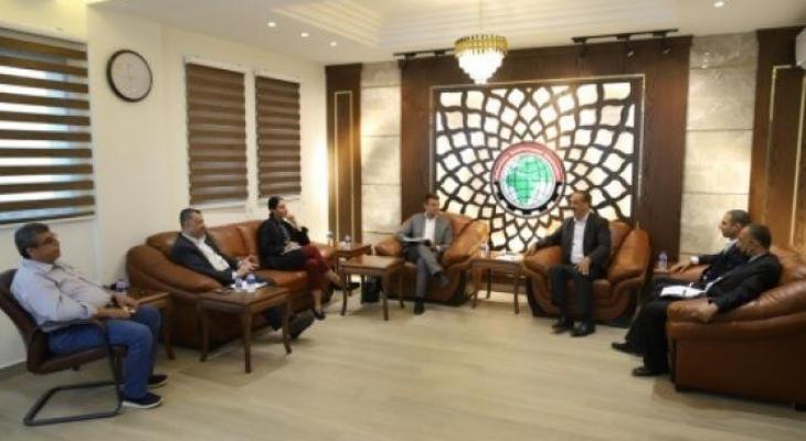 اتحاد المقاولين بغزة يناقش قضايا مهمة مع وفد الاتحاد الأوروبي