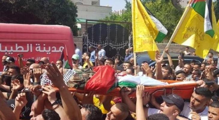 تشييع جثمان الطفل محمد العلامي في الخليل