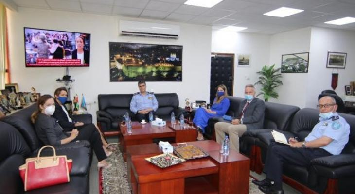 هذا ما جاء في اجتماع الشرطة الفلسطينية مع الاتحاد الأوروبي في رام الله