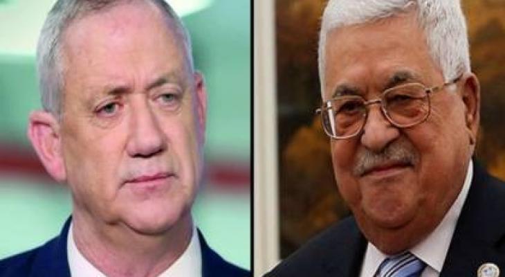موقع عبري يكشف تفاصيل جديدة حول اجتماع الرئيس عباس مع غانتس