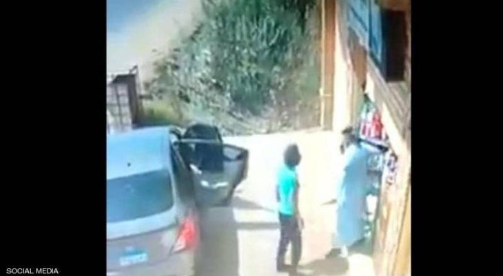 بالفيديو: مشهد يوثق خطف طفل بمصر