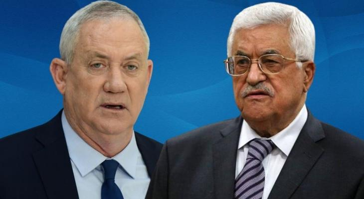 الرئيس عباس يلتقي بيني غانتس في رام الله.jpeg