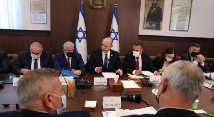 الحكومة الإسرائيلية تناقش الميزانية السنوية اليوم وتعرضها للمصادقة غدًا