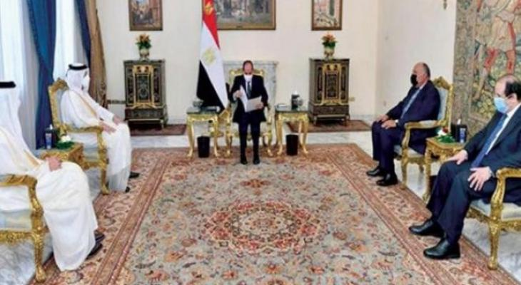 السفير القطري في مصر
