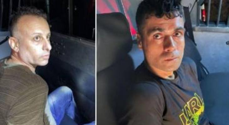 """الإعلام العبري: إلقاء القبض على اثنين من الأسرى الفارين من سجن """"جلبوع"""""""