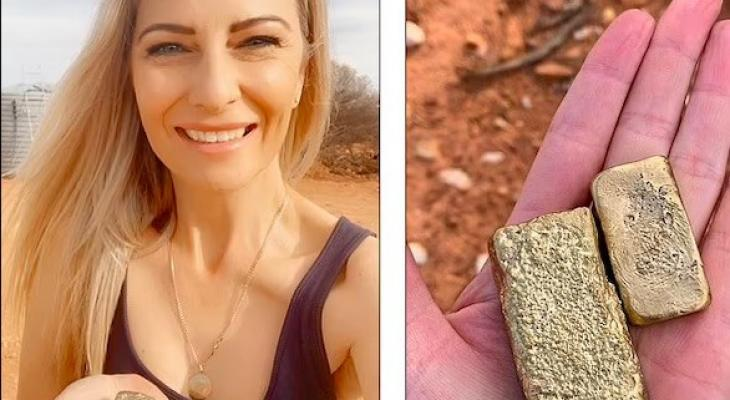 أسترالية تكشف قصة تحولها لمليونيرة بعد عملها فى منجم ذهب