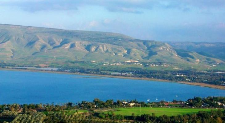 لهذا السبب.. الاحتلال يُغلق شاطئ بحيرة طبريا
