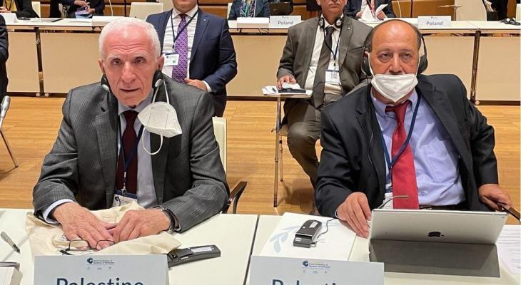 الأحد خلال المؤتمر العالمي لرؤساء برلمانات العالم في فيينا