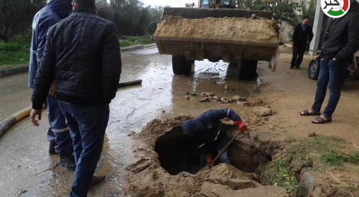 شاهد: وسم #الشرقية_ تنهار.. يُنذر بشتاءٍ قاسٍ على سكان أكثر المناطق المهمشة في خانيونس