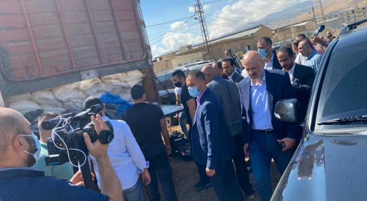 """الأمن اللبناني يضبط شحنة كبيرة من """"نترات الأمونيوم"""""""