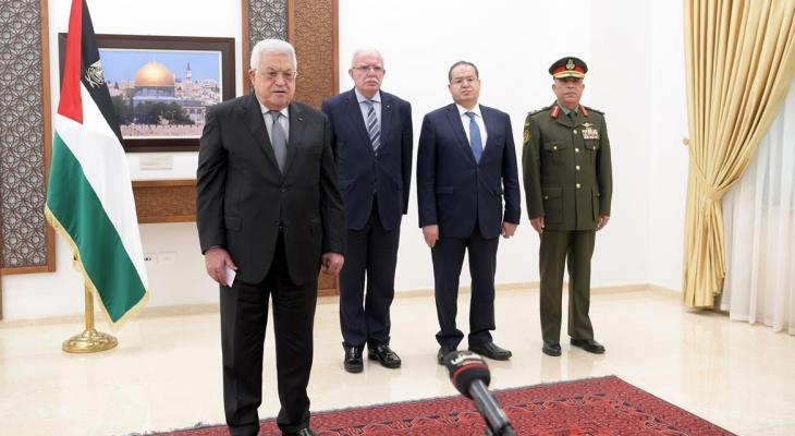 الرئيس يتقبل أوراق اعتماد تسعة من السفراء المعتمدين لدى دولة فلسطيk.jpg