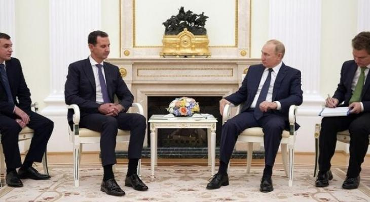 بوتين والاسد