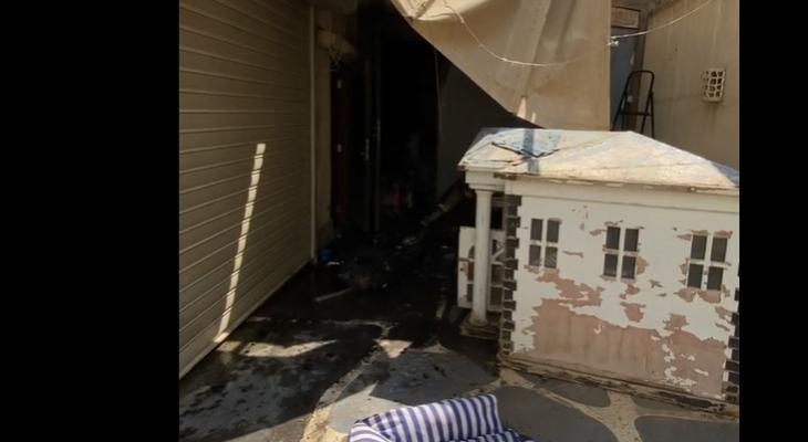 زوجة شريف منير عن الحريق الذي نشب بمنزلها: بحمد ربنا على كل حال