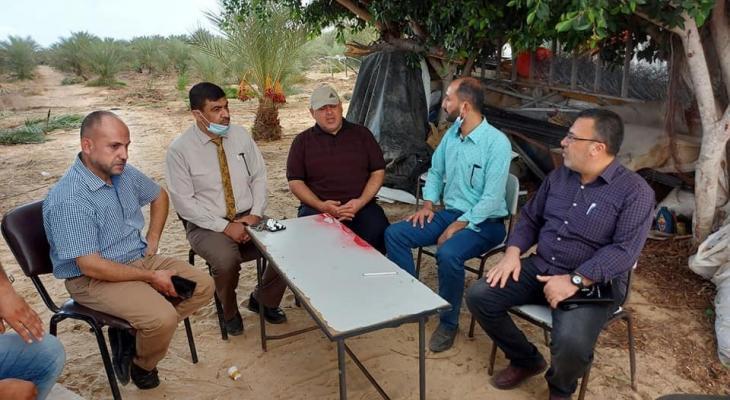 وكيل وزارة الزراعة في قطاع غزةأيمن اليازوري