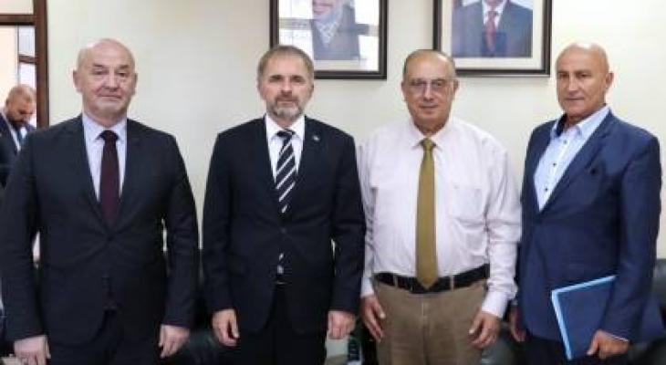 تفاصيل لقاء الوزير أبو مويس بوفد من البوسنة والهرسك