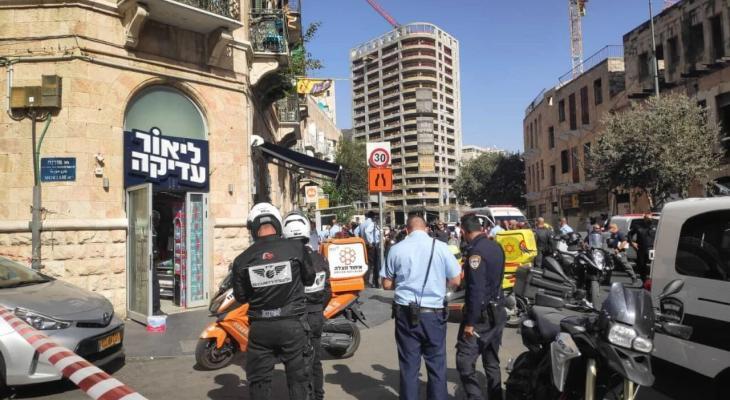 شاهد.. الاحتلال يزعم وقوع 3 إصابات بعملية طعن في القدس