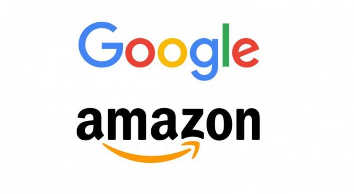 جوجل وامازون
