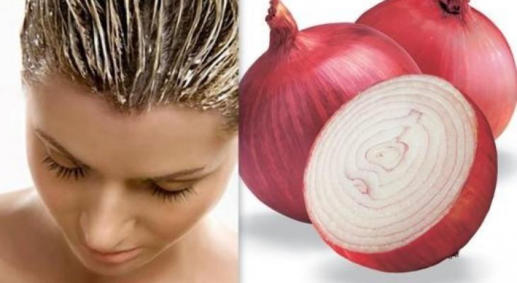 وصفات طبيعية من البصل لمنع تساقط الشع