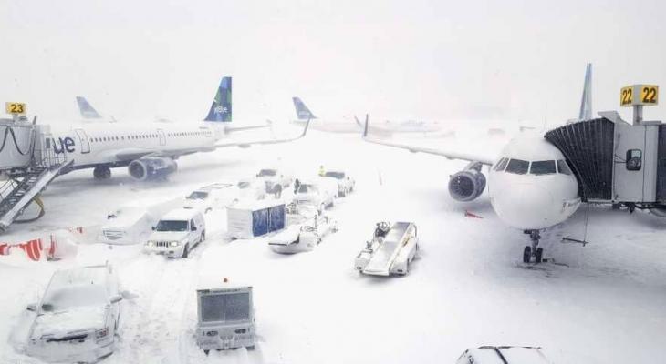 الثلوج في امريكا