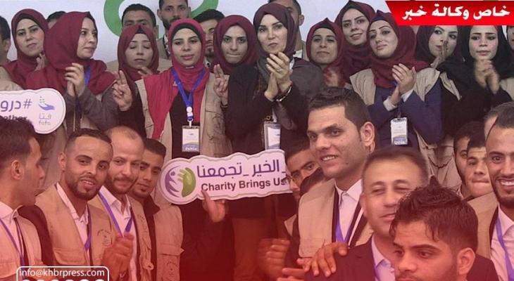 """بالفيديو: مركز """"فتا"""" يُقيم فعاليات ملتقى التطوع الثاني بغزّة"""