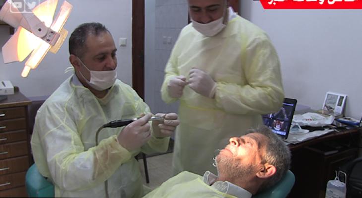 """بالفيديو: عملية زراعة """"أسنان"""" فورية باستخدام تقنية سويسرية متطورة في غزة"""