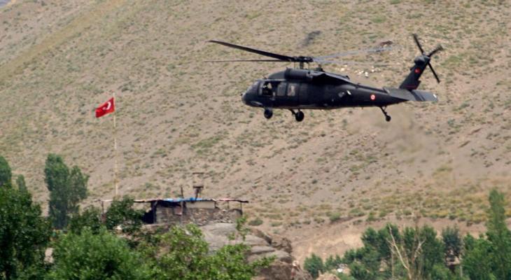 مقتل 4 عسكريين أتراك بسقوط مروحية في إسطنبول